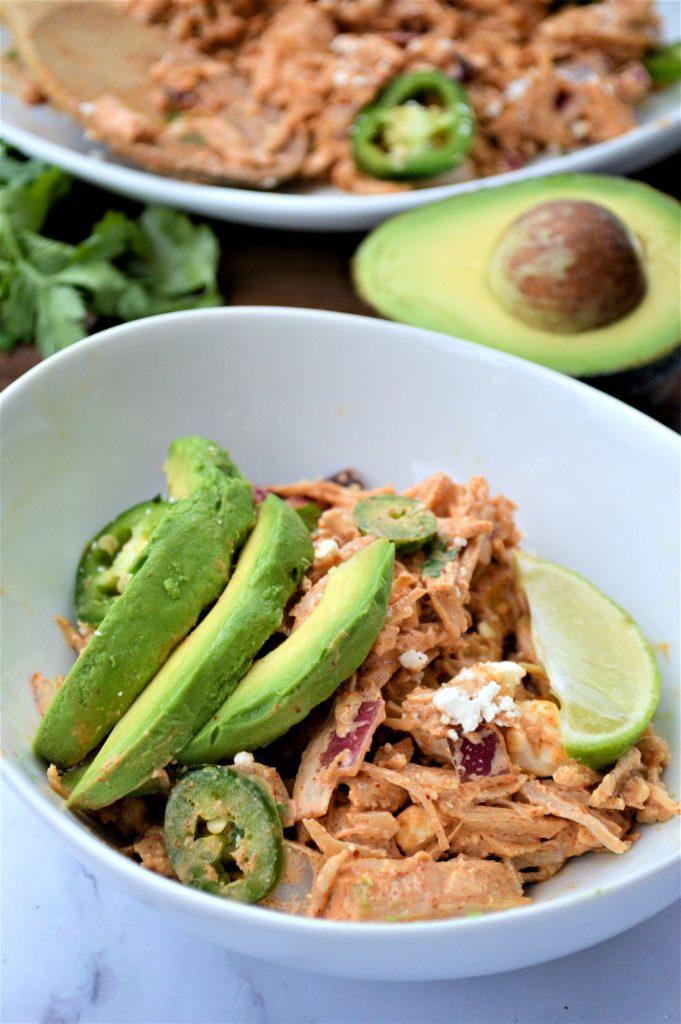 Low Carb Taco Chicken Salad Recipe