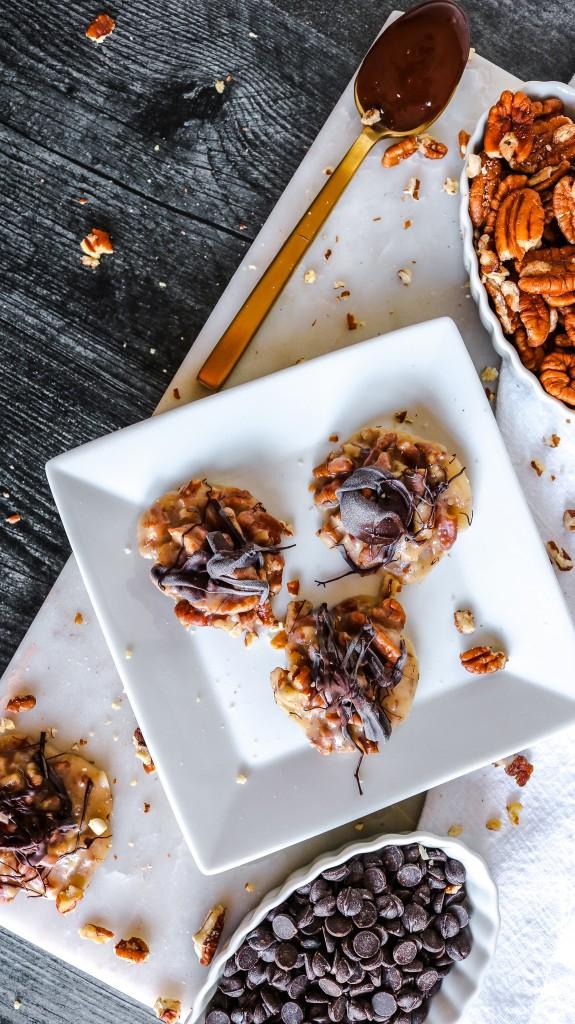 Keto Caramel Pecan Cookies Recipe