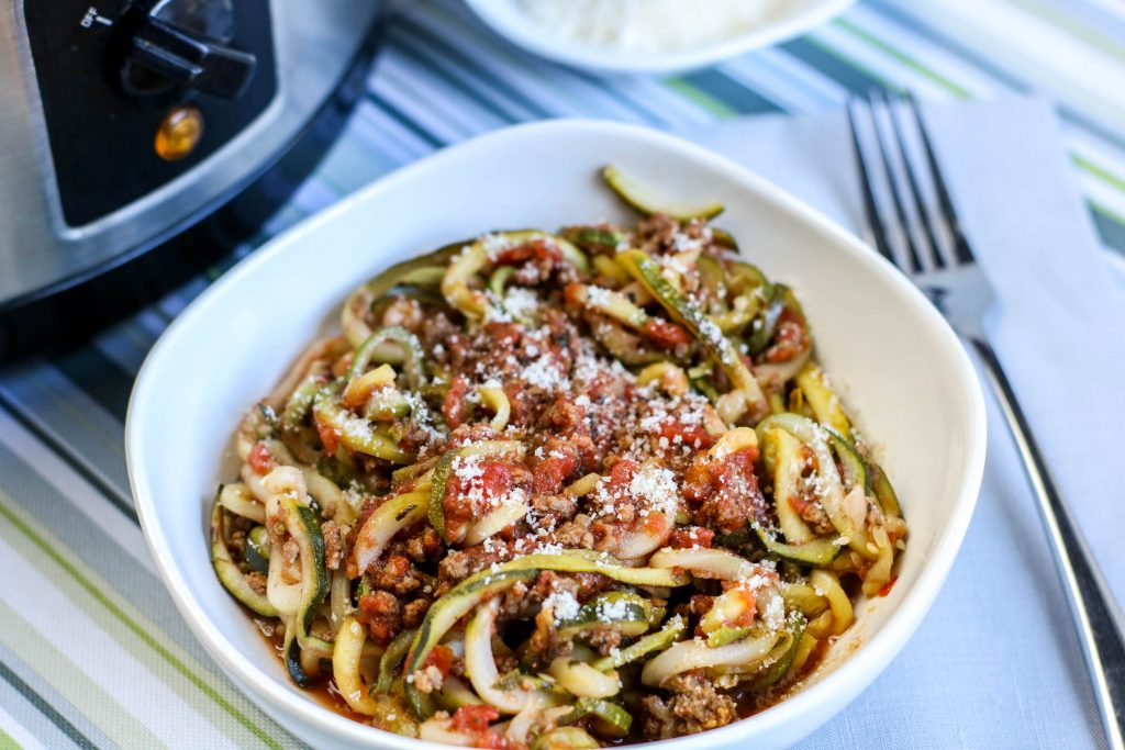 Low Carb Spaghetti Zoodles