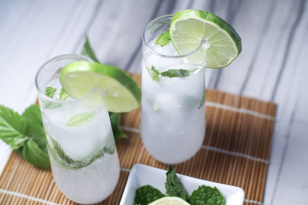 Keto Mojito Drink Recipe