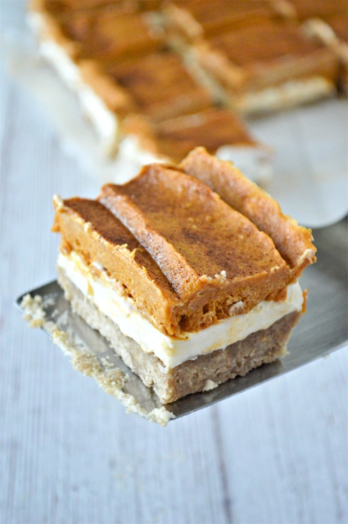 Keto Pumpkin Cheesecake Bars Recipe
