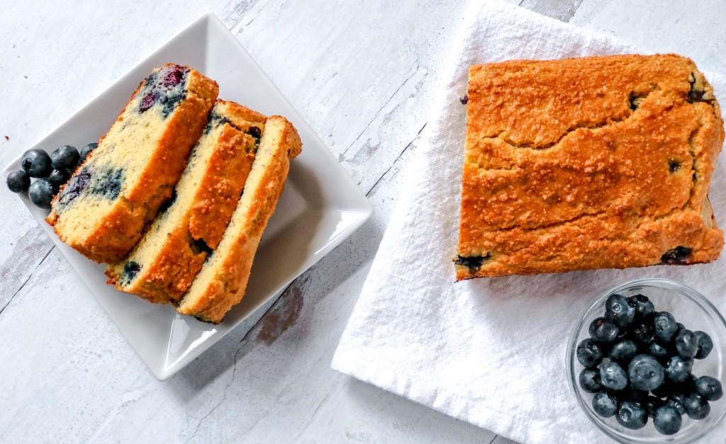 Keto Blueberry Bread Recipe