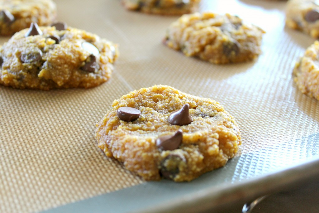 keto chocolate chip pumpkin cookies