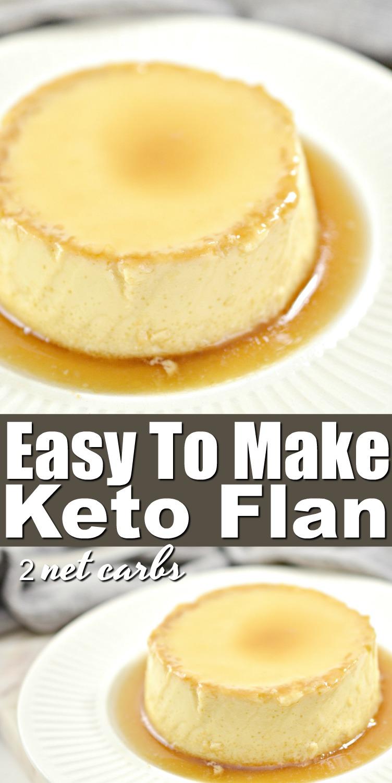 Easy Keto Flan Recipe