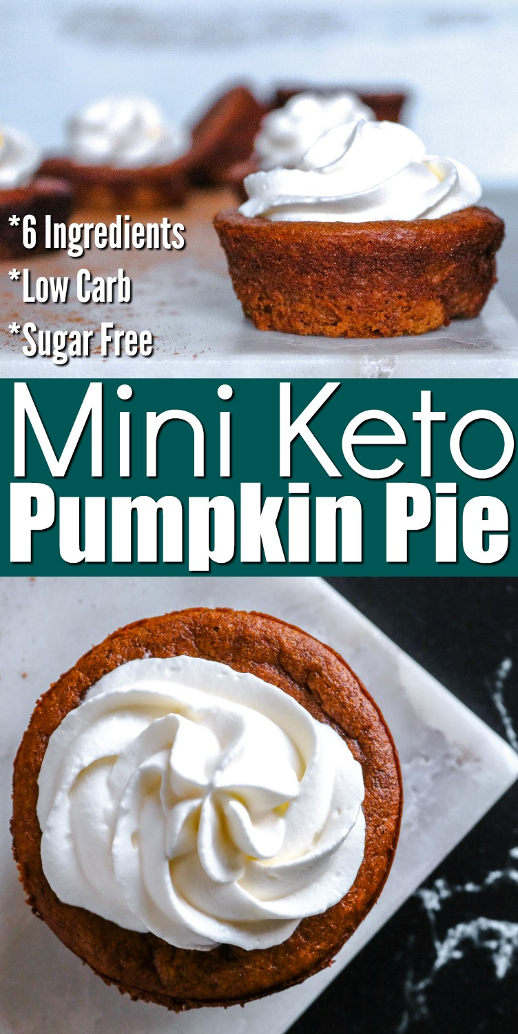 Keto Mini Pumpkin Pie Recipe