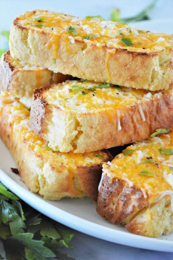 Low Carb Garlic Toast Recipe
