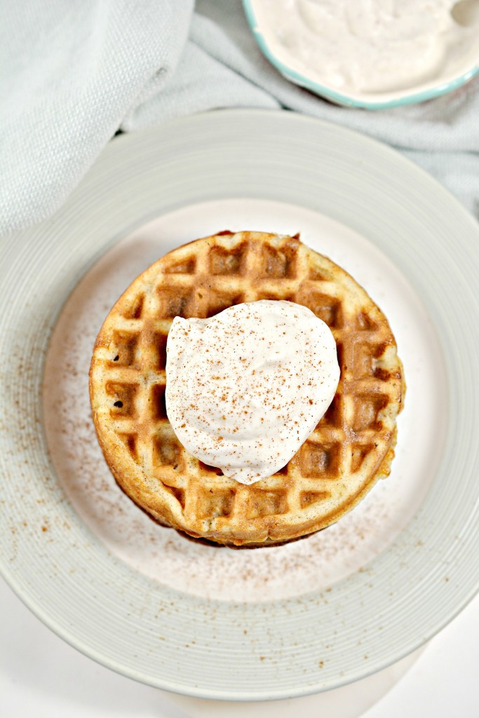 Keto Eggnog Chaffle Recipe
