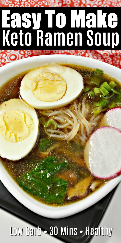 Easy Keto Ramen Recipe