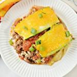 Keto Zucchini Taco Lasagna Recipe