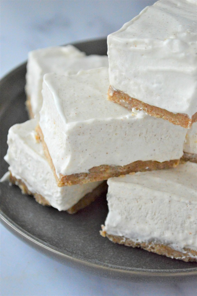 Low Carb Eggnog Cheesecake Bars Recipe
