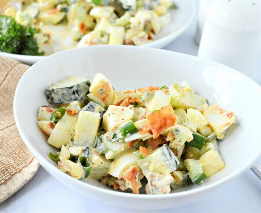 Low Carb Cucumber Egg Salad Recipe
