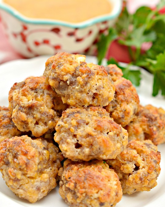 Keto Cream Cheese Sausage Balls Recipe