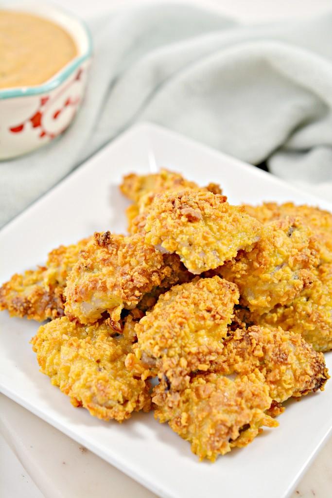 Keto Ranch Popcorn Chicken Recipe