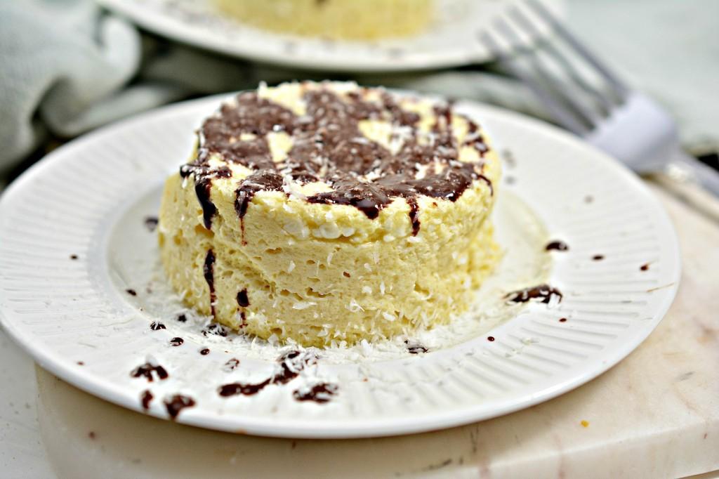 Easy Keto Mug Cheesecake
