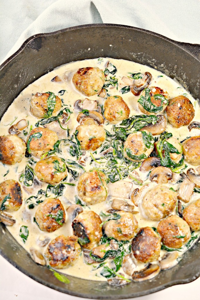 Cajun Keto Chicken Meatballs Recipe