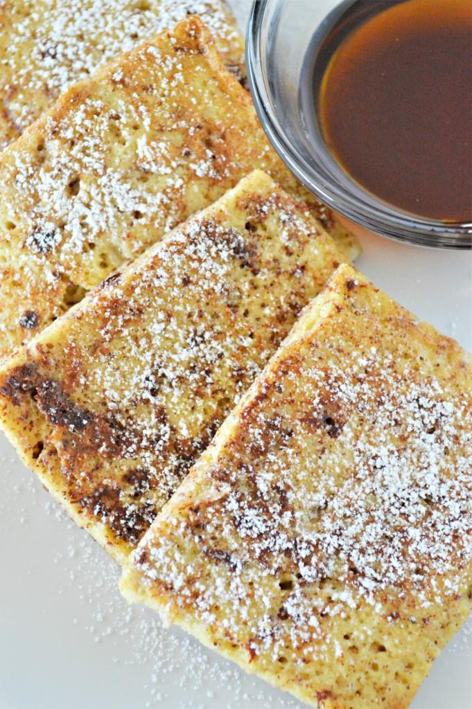 Eggnog Keto French Toast