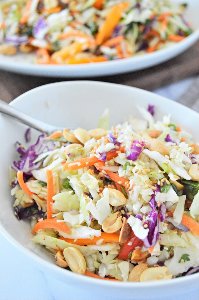 Low Carb Asian Slaw