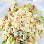 Low Carb Caesar Egg Salad