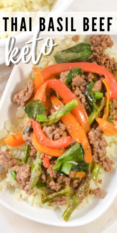 Keto Thai Basil Beef
