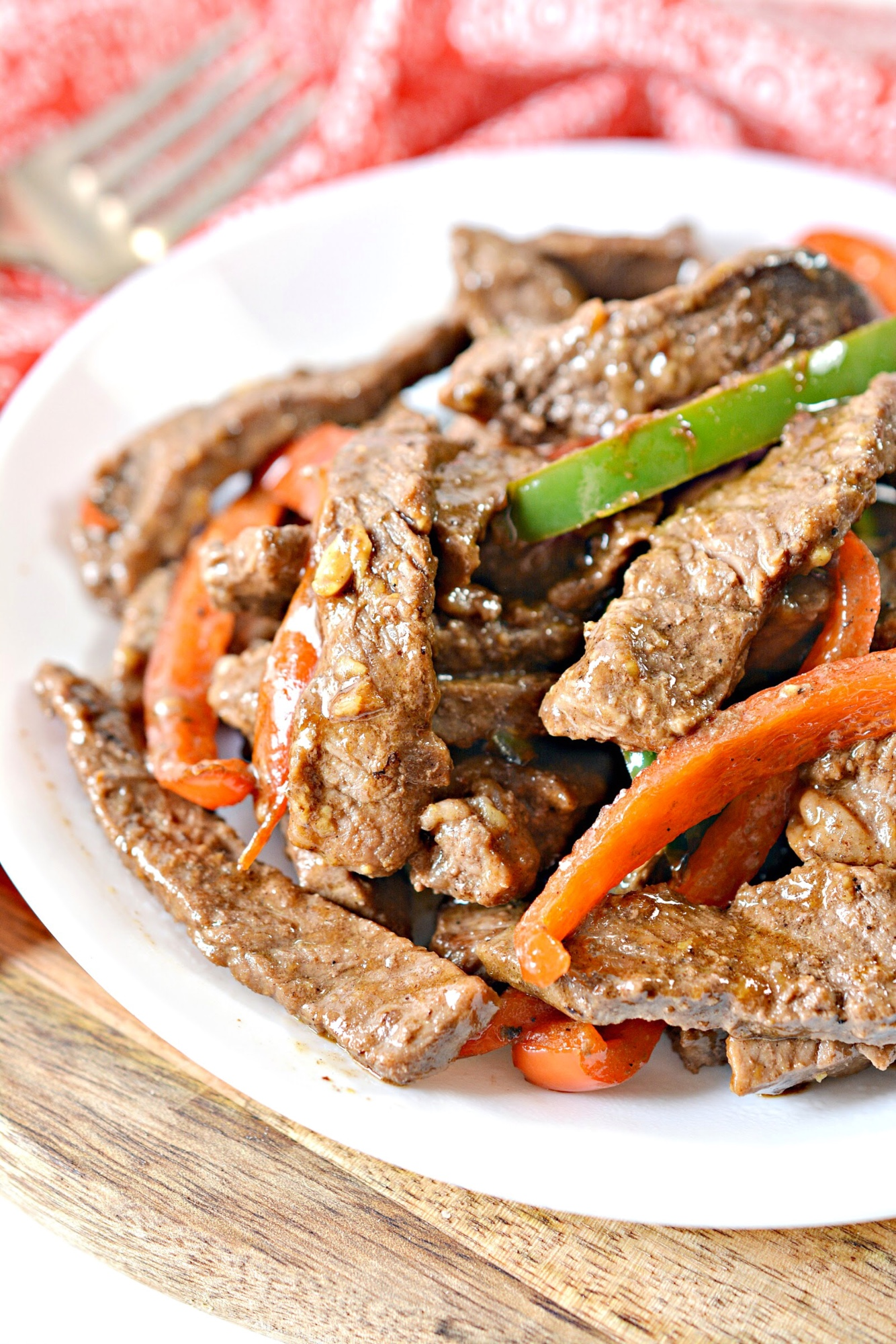 Easy Keto Pepper Steak