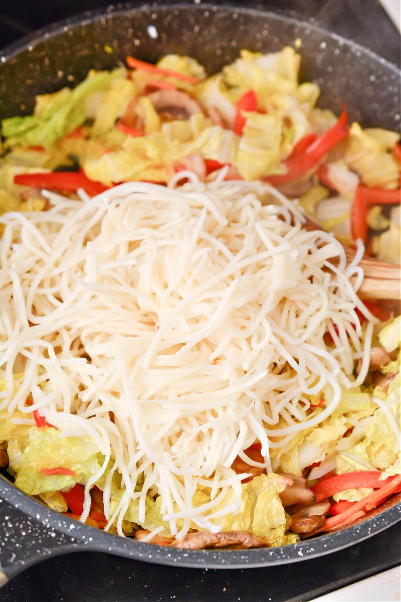 Ramen Stir Fry With Keto Stir Fry Sauce