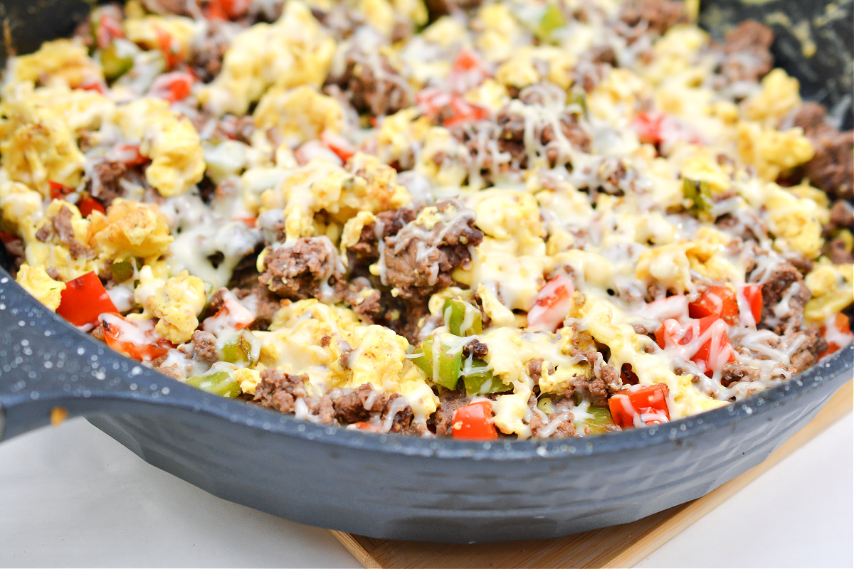Keto Breakfast Skillet