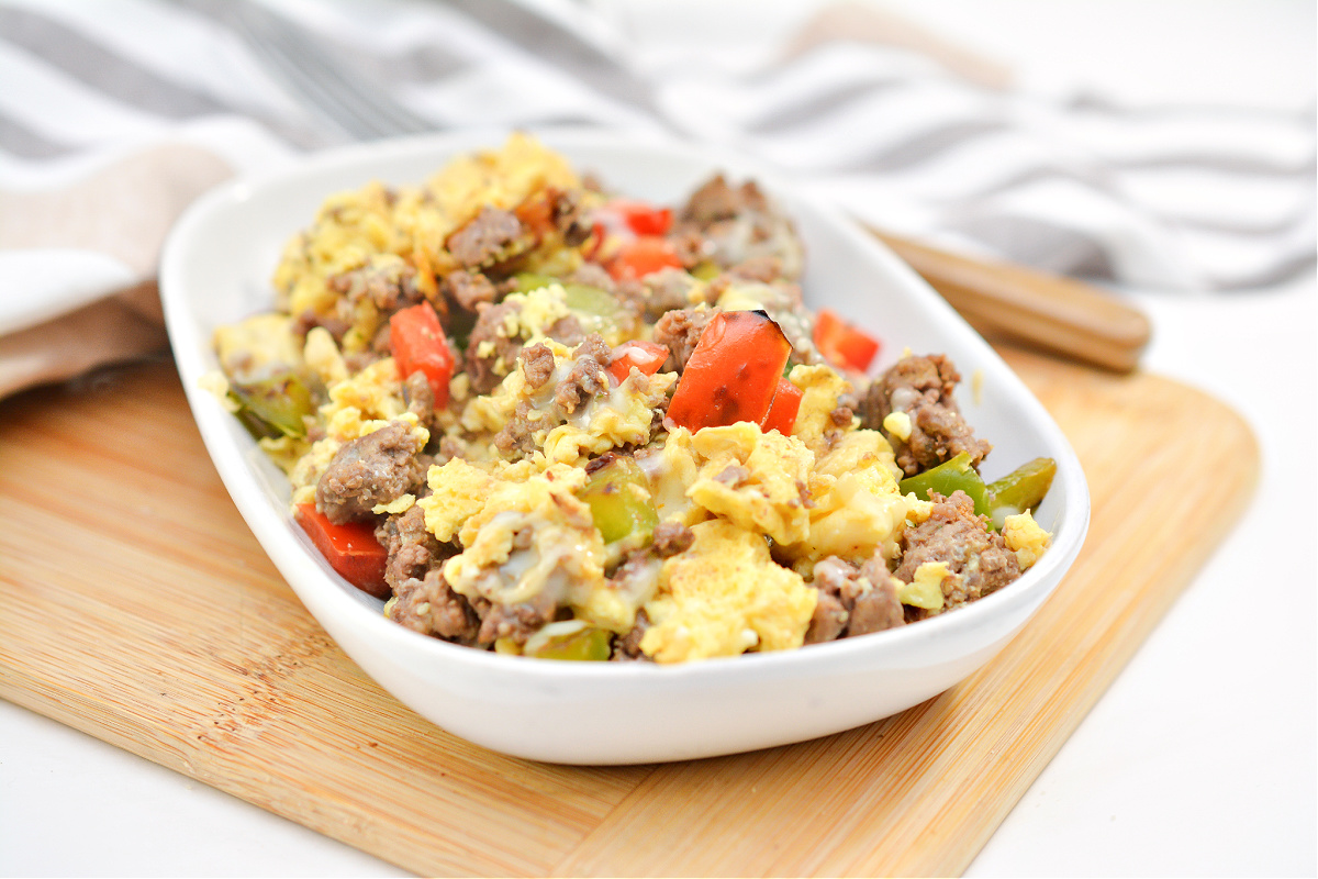 Keto Bacon and Egg Casserole