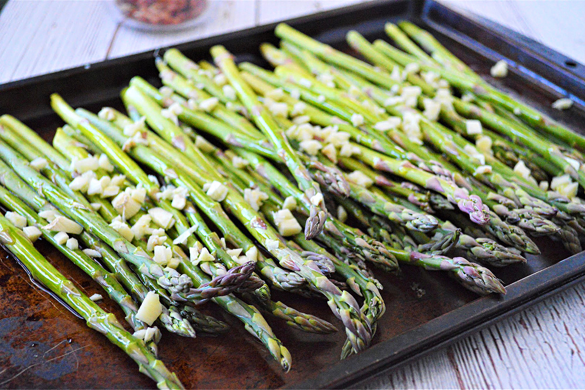 Low Carb Cheesy Asparagus