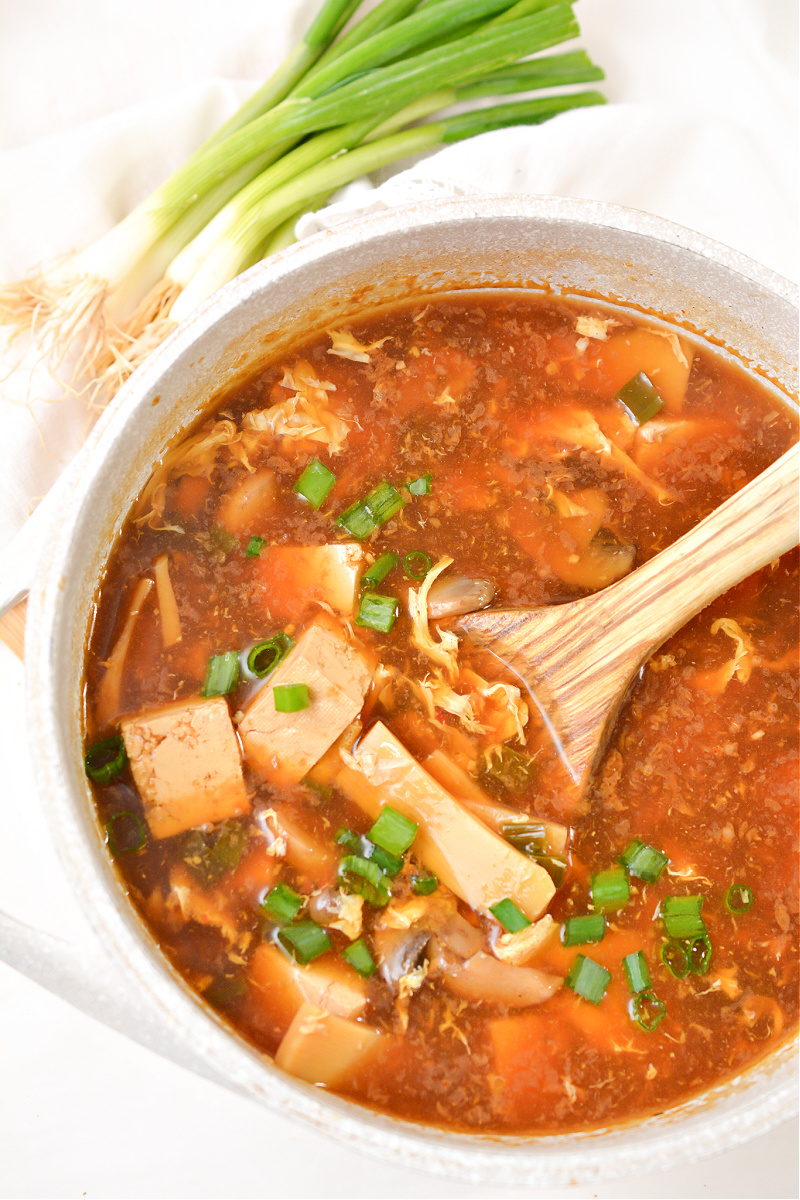 Keto Hot and Sour Soup