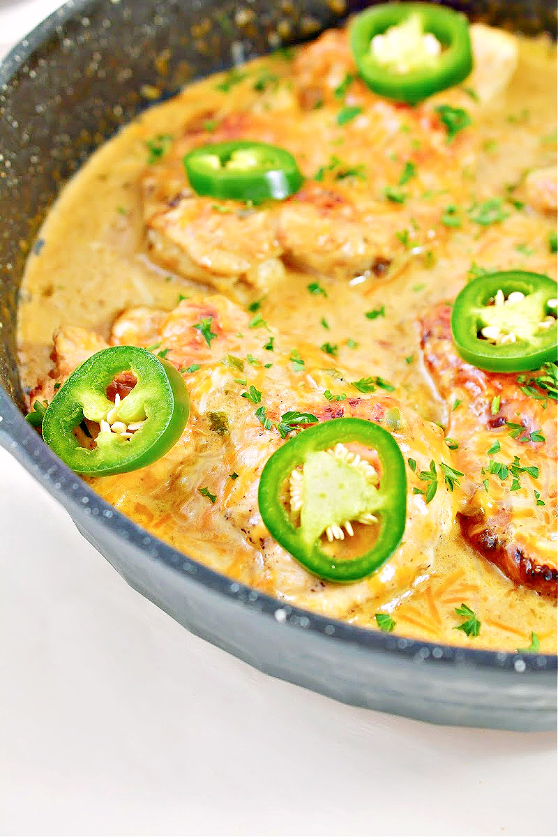 Low-Carb Salsa Verde Chicken Recipe