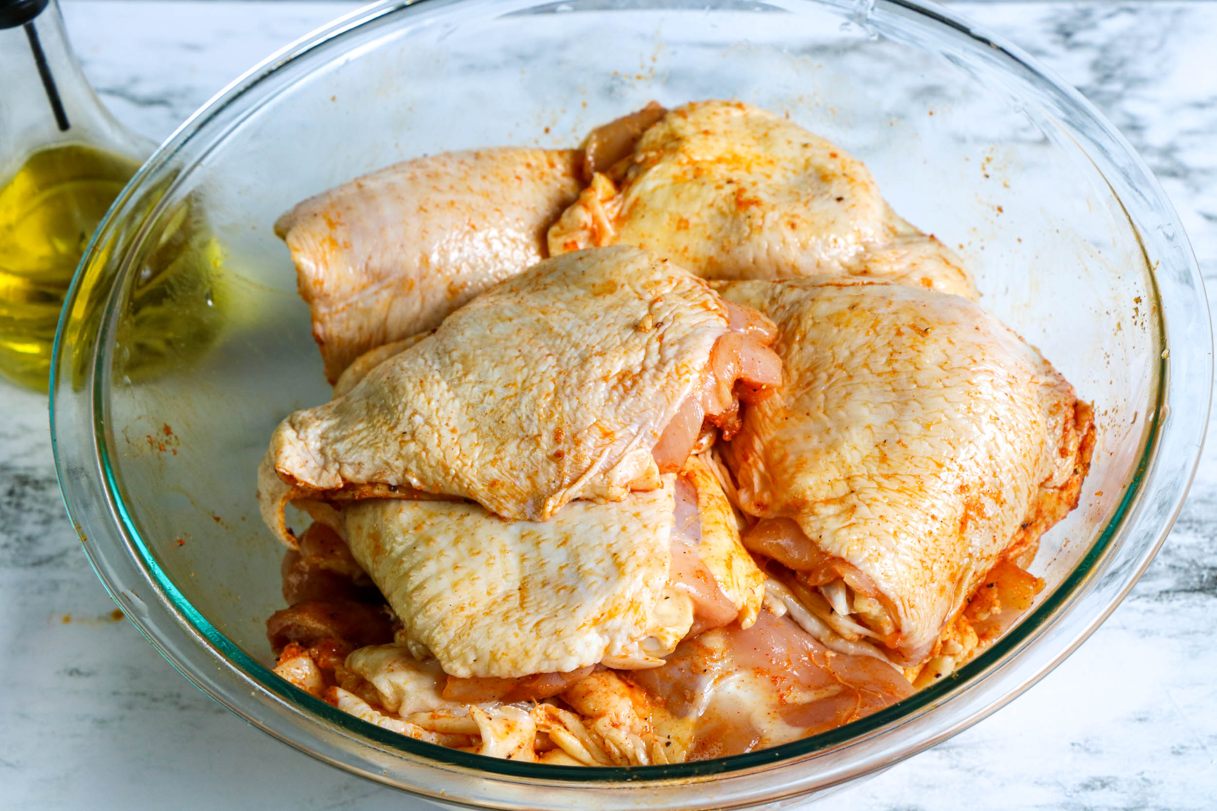 Low Carb Oven Baked Chicken Thighs