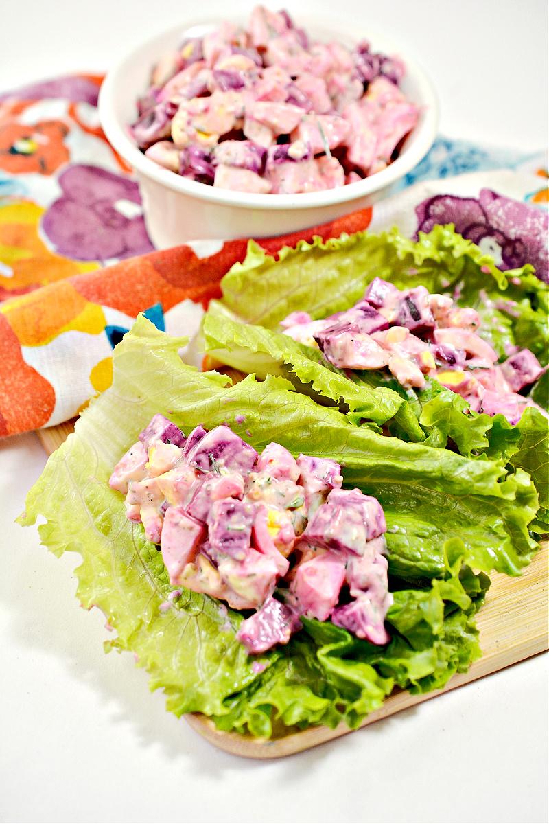 Beet Egg Salad Recipe