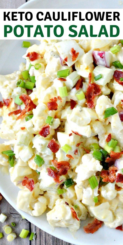 Keto Cauliflower Potato Salad