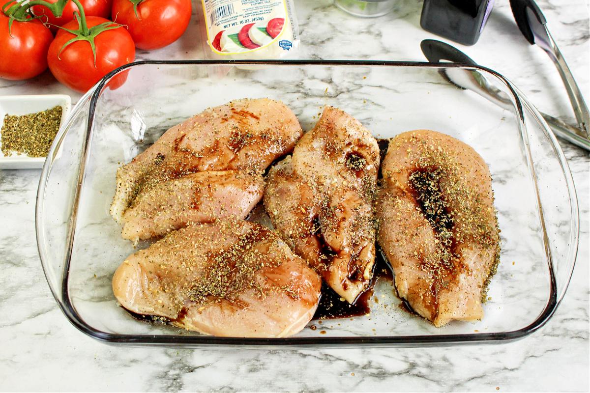 Keto Caprese Chicken