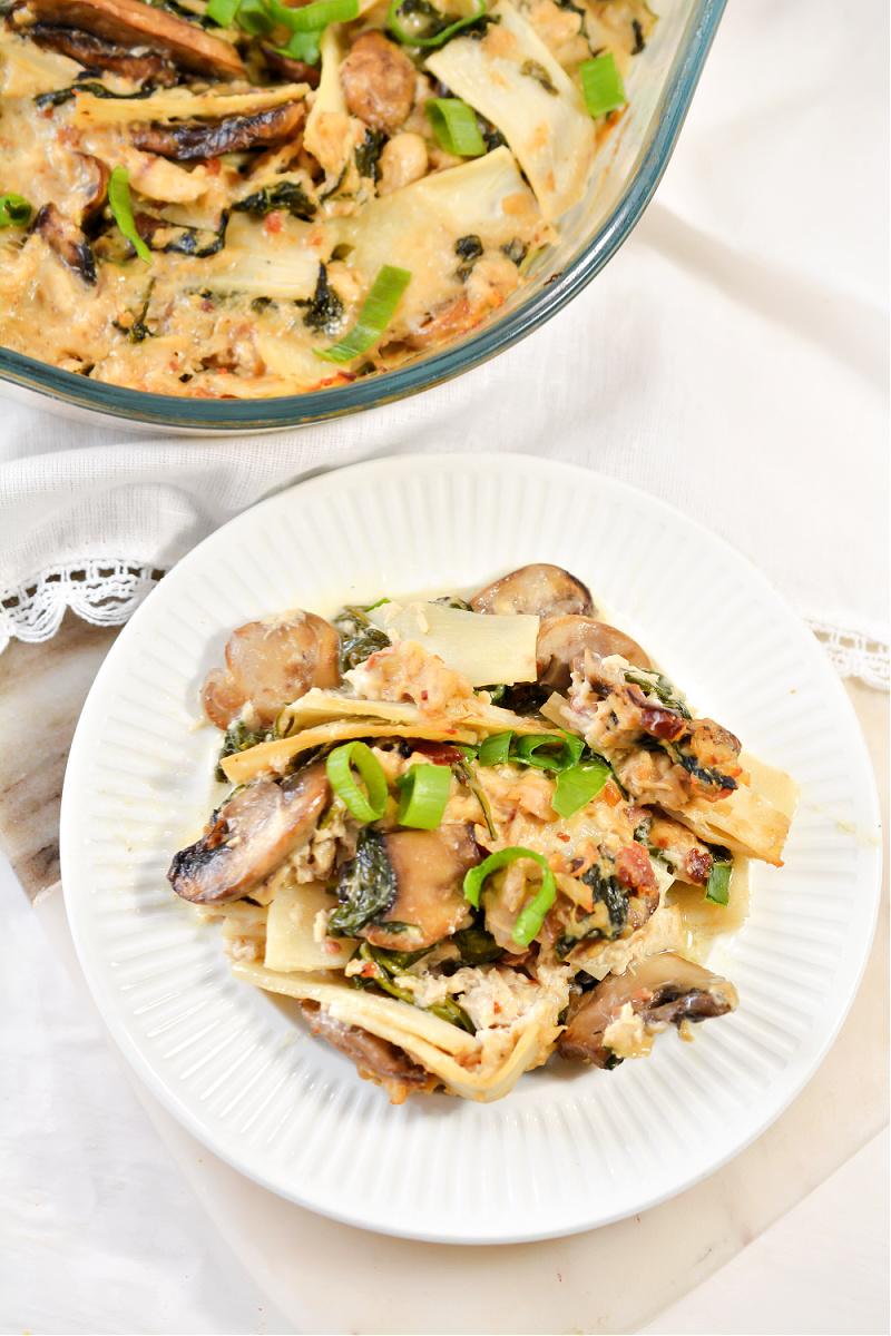 Keto Tuna Noodle Casserole