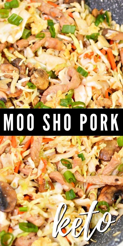 Keto Moo Shu Pork Recipe