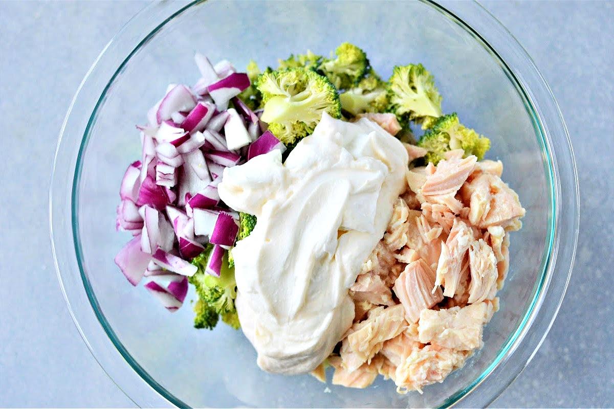 Low Carb Chicken Broccoli Salad