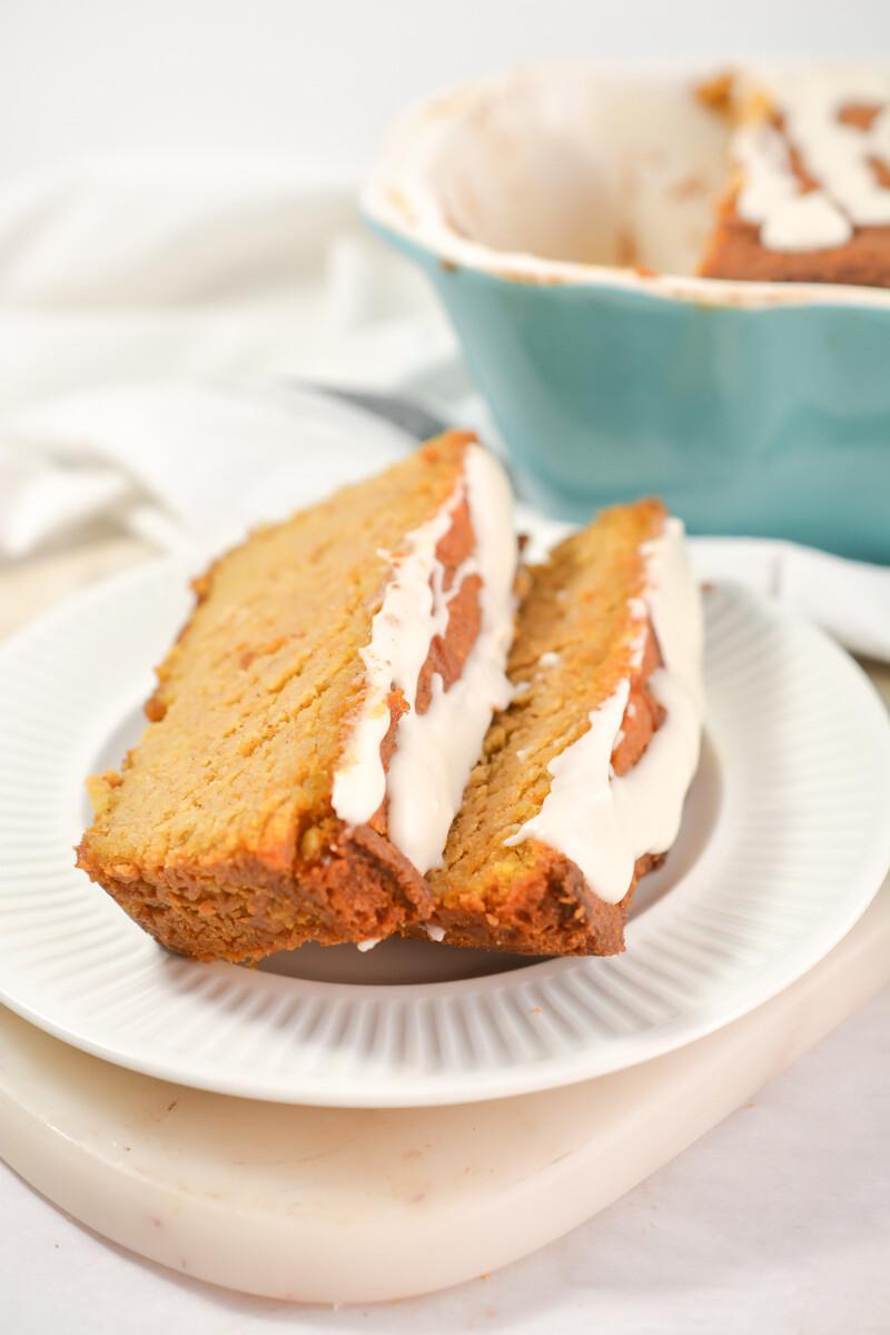 Keto Pumpkin Pound Cake
