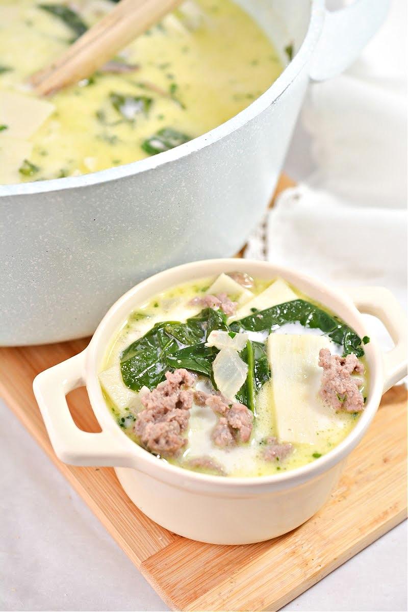 Keto Beef Stroganoff Soup