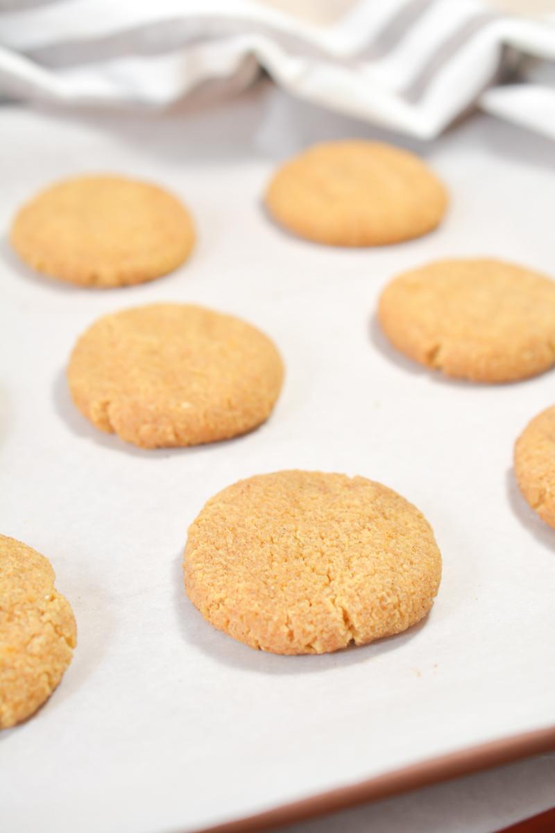 Keto Pumpkin Snickerdoodle Cookie