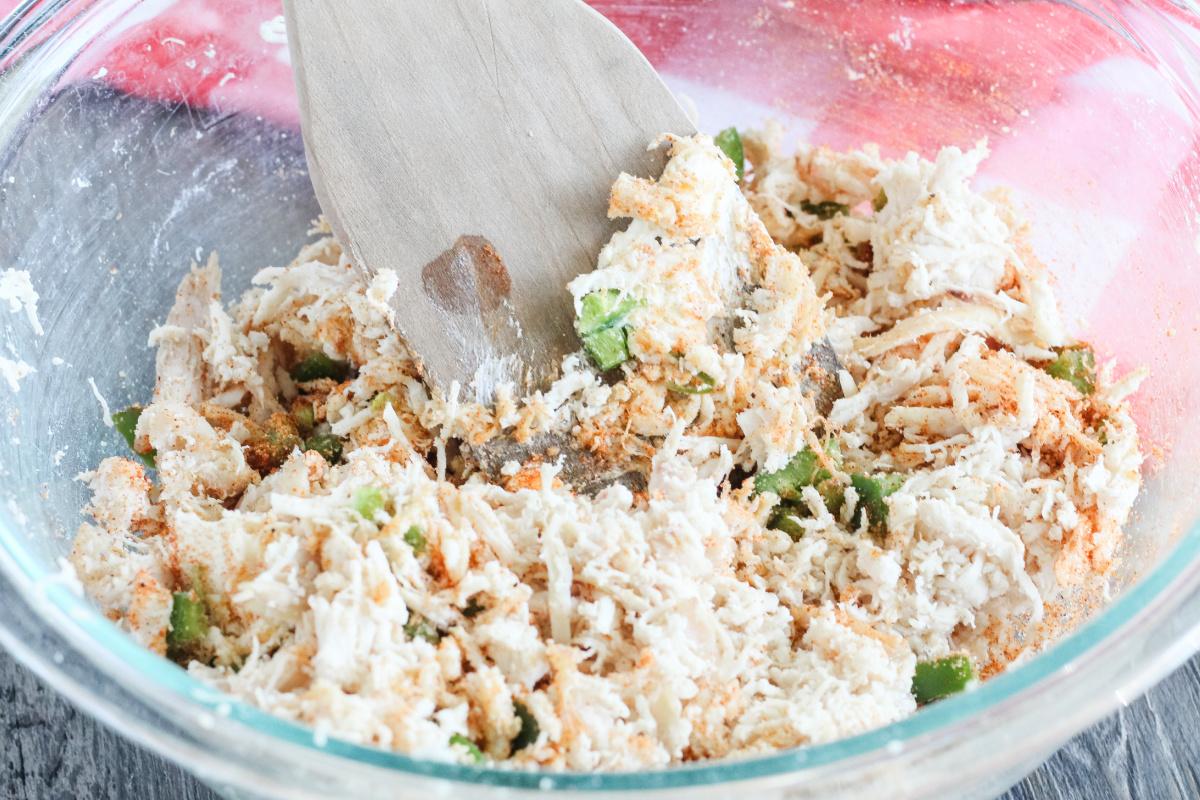 Jalapeno Popper Chicken Keto Chaffles
